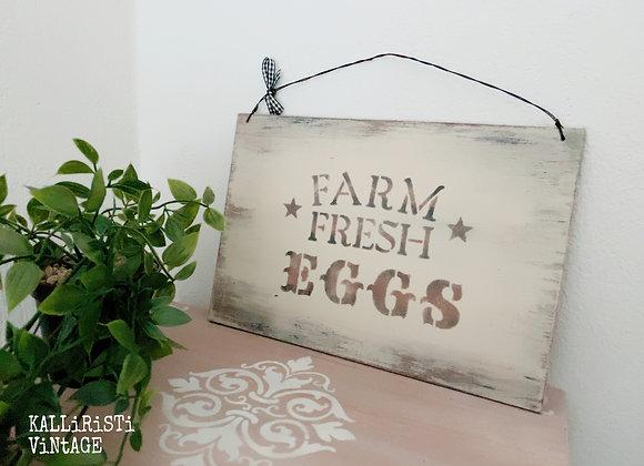 Farm Fresh Eggs (Brown)