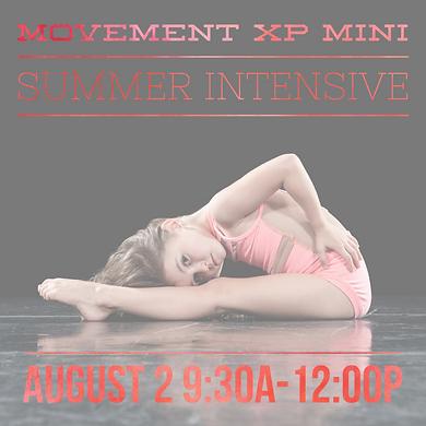 Mini Summer Intensive