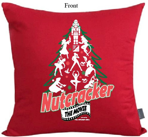 Nutcracker Cast Pillow Case with Pillow Insert