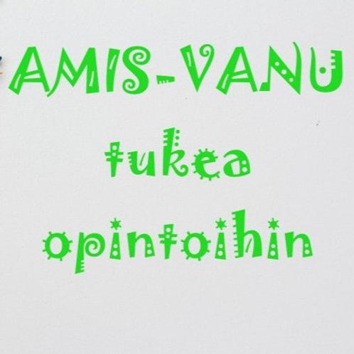 AMIS-Vanu -ryhmä - tukea opiskeluun