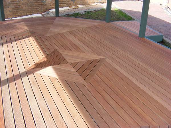 Imported Hardwood - Kapur Decking