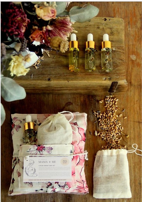 Luxury Wheatbag set - sleep support