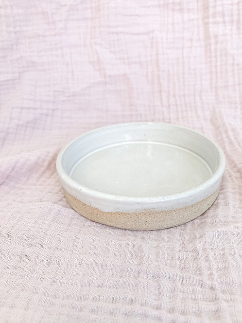 pēpi dish white