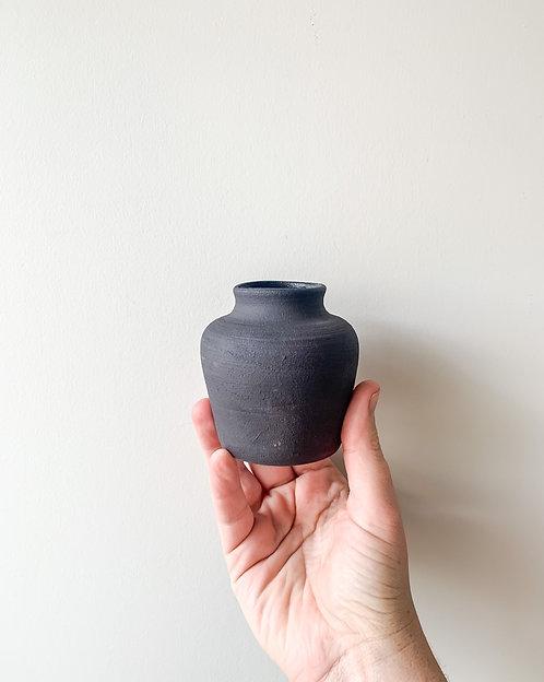 Charcoal Bud Vase