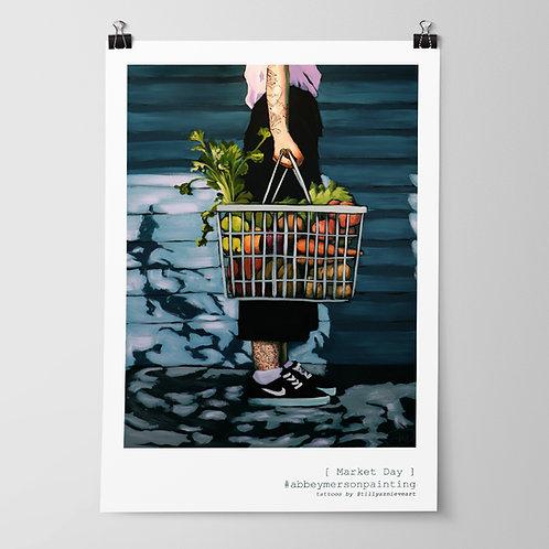 'Market Day' Art Print