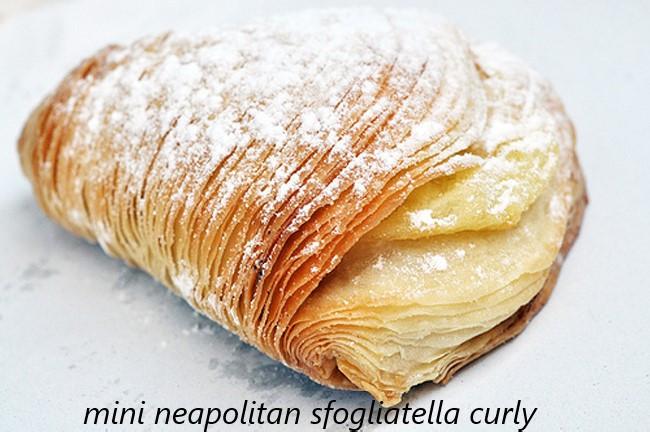 mini sfogliatella-neapolitan riccia (cur