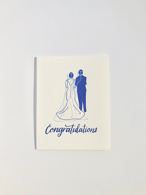Stefana Wedding Card