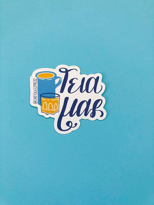 Geia Mas Sticker