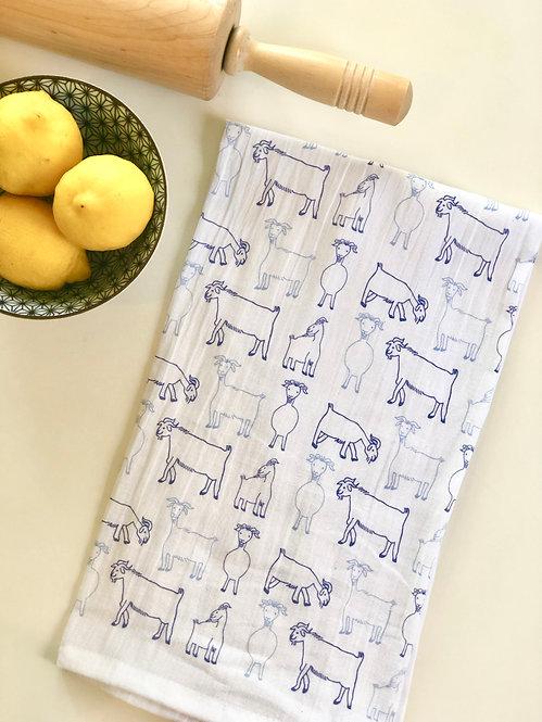 Goats - Tea Towel