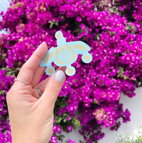 Malia Bee Sticker