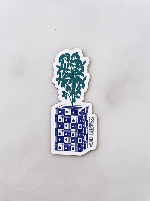 Greek Basil and teneke magnet