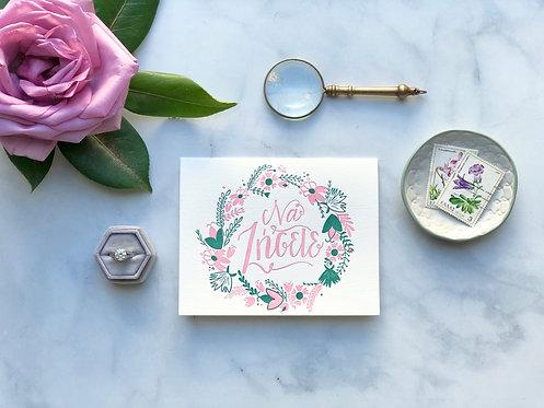 May You Both Live - Wedding Card