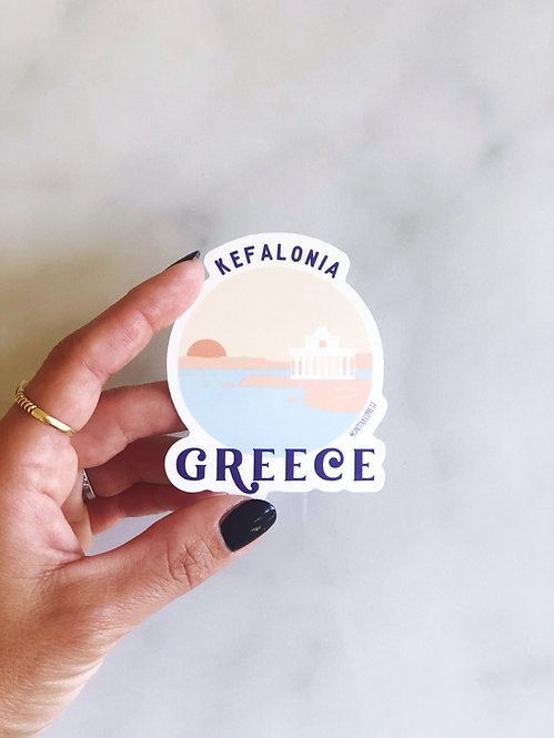 Kefalonia Souvenir Sticker