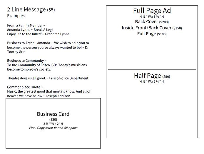MSND Playbill Ad Descriptions.PNG