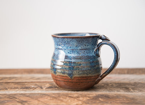 Blue Red Coffee Mug