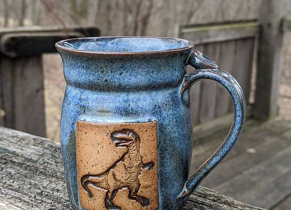 Childrens T-rex Mug