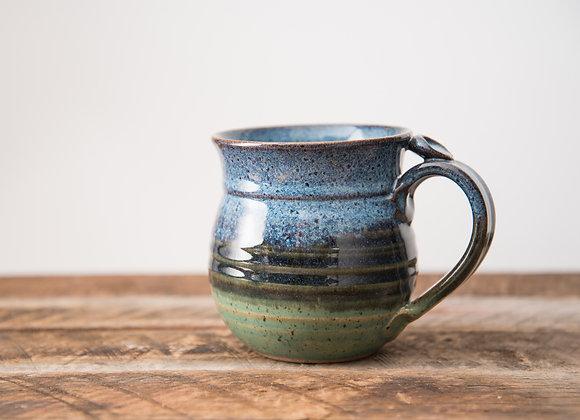 Blue Green Coffee Mug