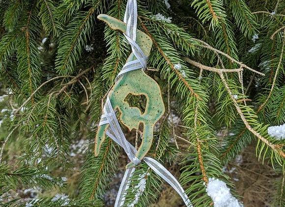 Aerial Yoga Ornament