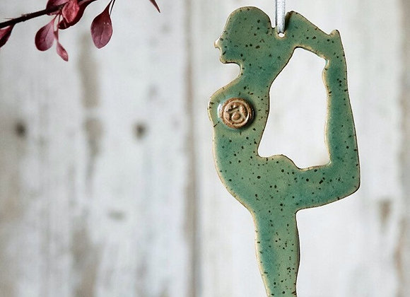 Yoga Dancers Pose Ornament