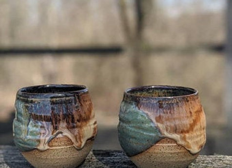 Hand Thrown Whiskey Cup