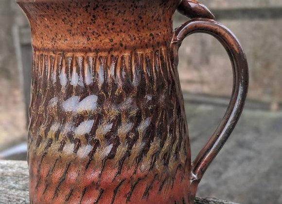 10oz Redish Brown Mug