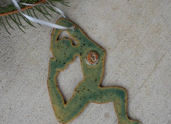 Bound Cresent Lunge Ornament