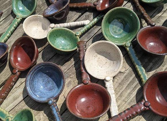 Stoneware Pottery Spoon