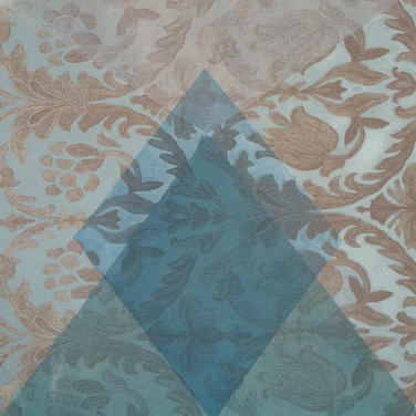 ACFA-0315 Mixed Media on Fabric 24 x 24 in 2015