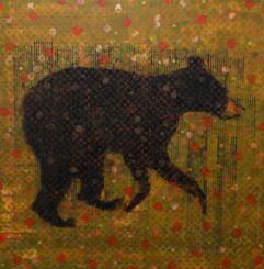 Animal Painting #017-1509- Bear