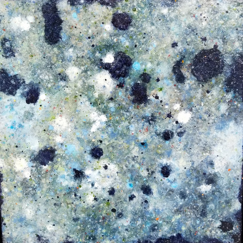 """Keith Chisholm """"Insight: Tide Pool  Composition 1.07"""" 24 x 24 """" MM/B 2017 $2400.00 CAD + GST"""