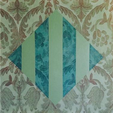 ACFA-0815 Mixed Media on Fabric 24 x 24 in 2015