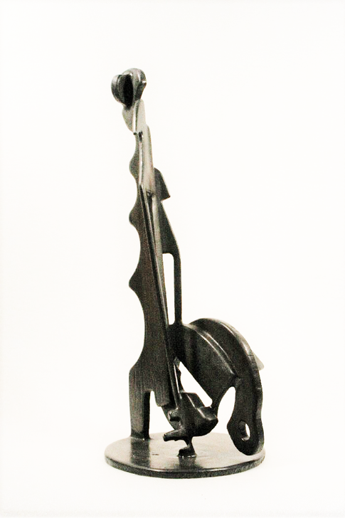 Ben McLeod - Untitled #116.02 - Welded Steel - 27 x 12 in