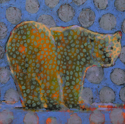 Animal Painting #018-1543-Polar Bear
