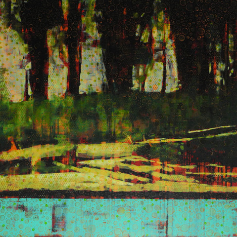 BowRiver Painting #016-1442