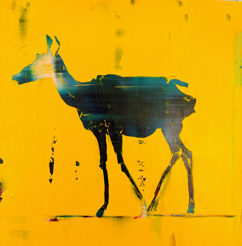 Animal Painting #016-1434 Pronghorn