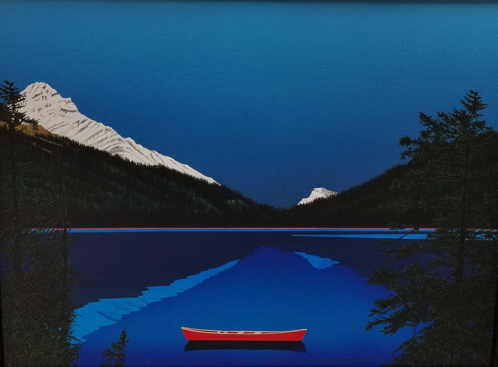 "David Thauberger ""Nice Day"" A/C 34 x 46 in 2017 $8500.00 CAD + GST"