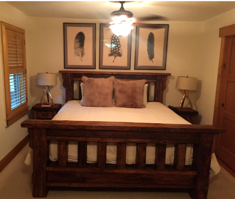 California King Size Wood Bed Frame