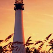 Miami Lighthouse at Sunset