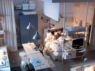 Ikea's 2017 Catalog Is A Terrifying Glimpse Into The Tiny Apartments Of The Future