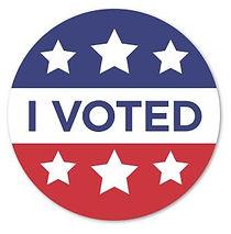 I Voted Label | Labels