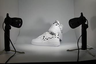 Custom Cow Print Nike Air Force 1.JPG