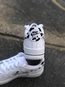 Custom Cow Print Nike Air Force 1