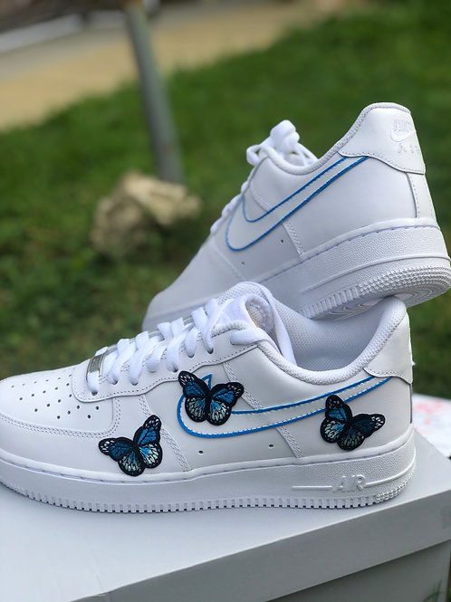 Small Butterfly Embroidery - AF1 (Junior)