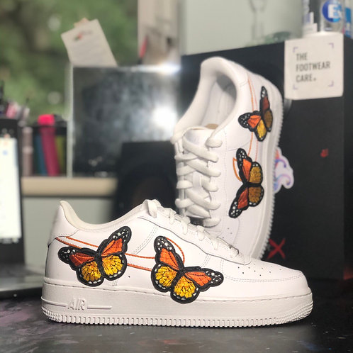 Large Butterfly Embroidery - AF1 (Adults)
