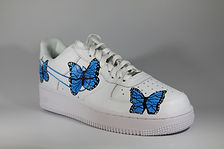 Custom Butterfly Nike Air Force 1