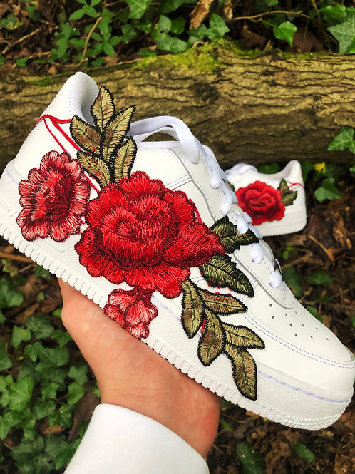 Rose Embroidery - AF1 (Adults)