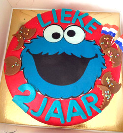 Speciale Cookie Moster Taart