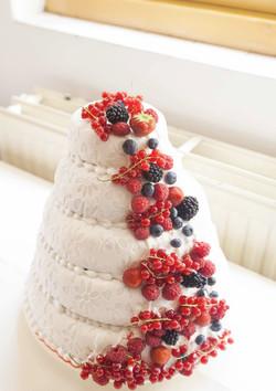 Bruidstaart vruchten