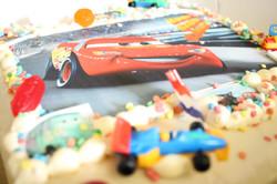 Slagroomtaart Cars
