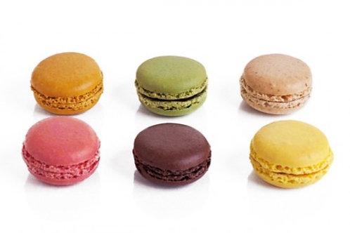 Macarons 6 st.